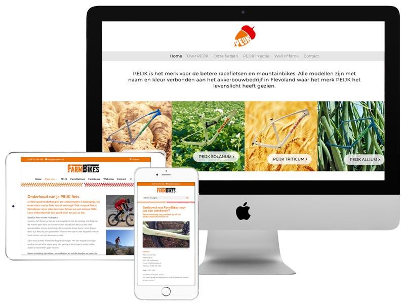 FarmBikes & PEIJK websites