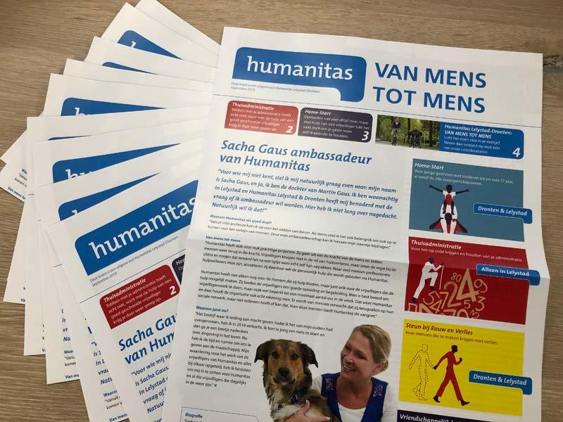 Humanitas campagnekrant